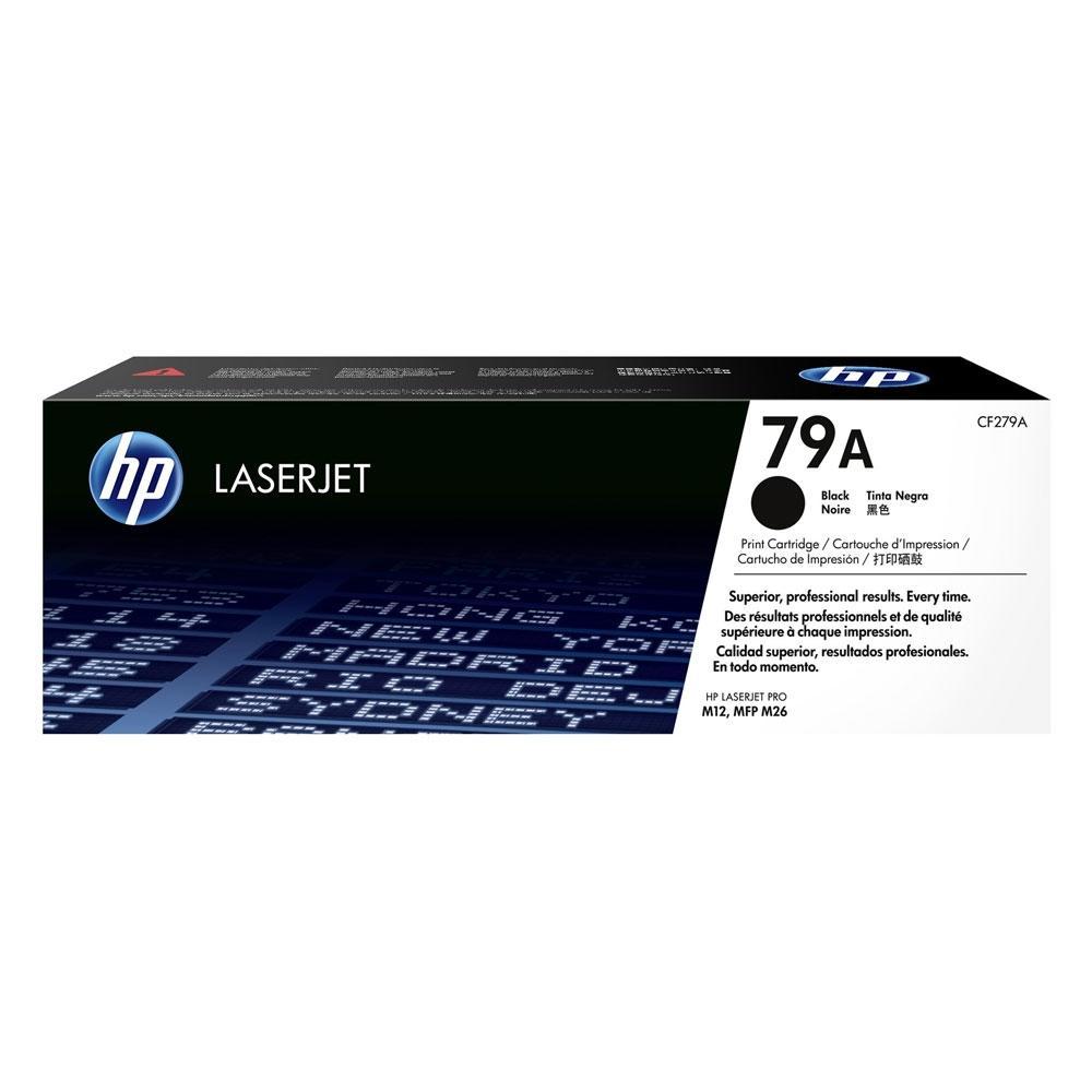 HP 79A LaserJet Black Toner (1.0k) (CF279A)