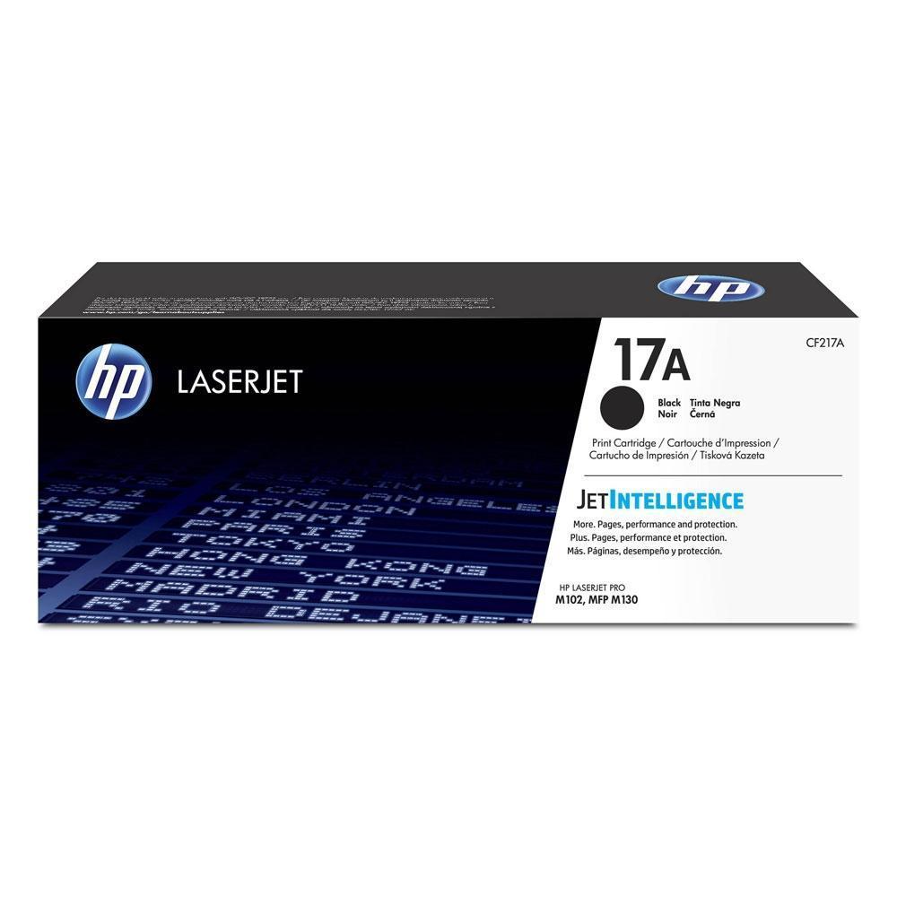 HP 17A LaserJet Black Toner (1.6k) (CF217A)