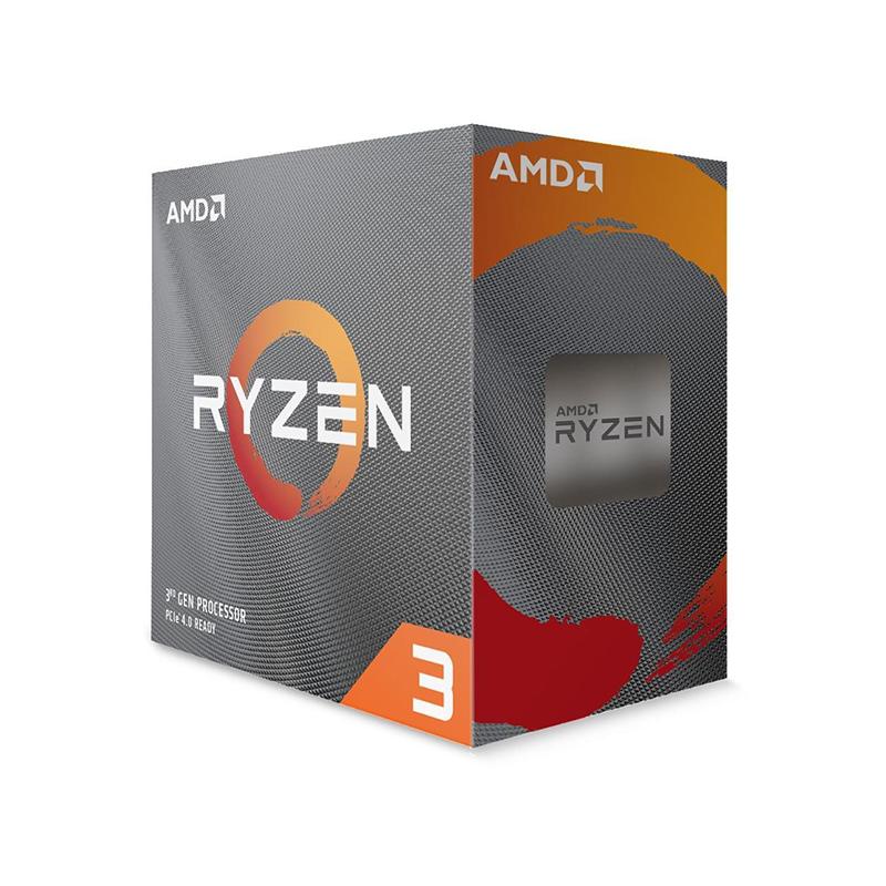 Επεξεργαστής AMD RYZEN 3 3100 Box AM4