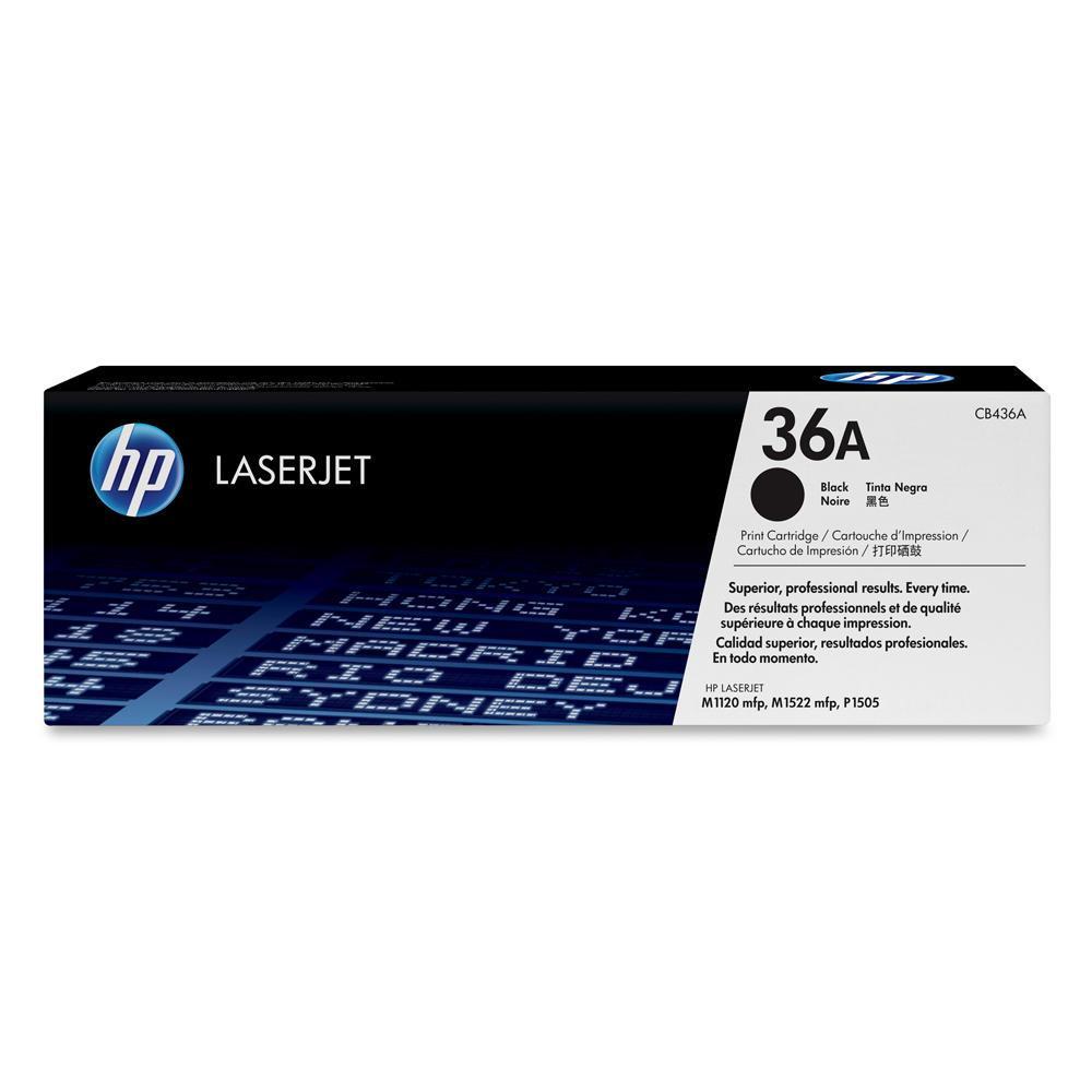 HP LaserJet P1505 Black Toner (CB436A)