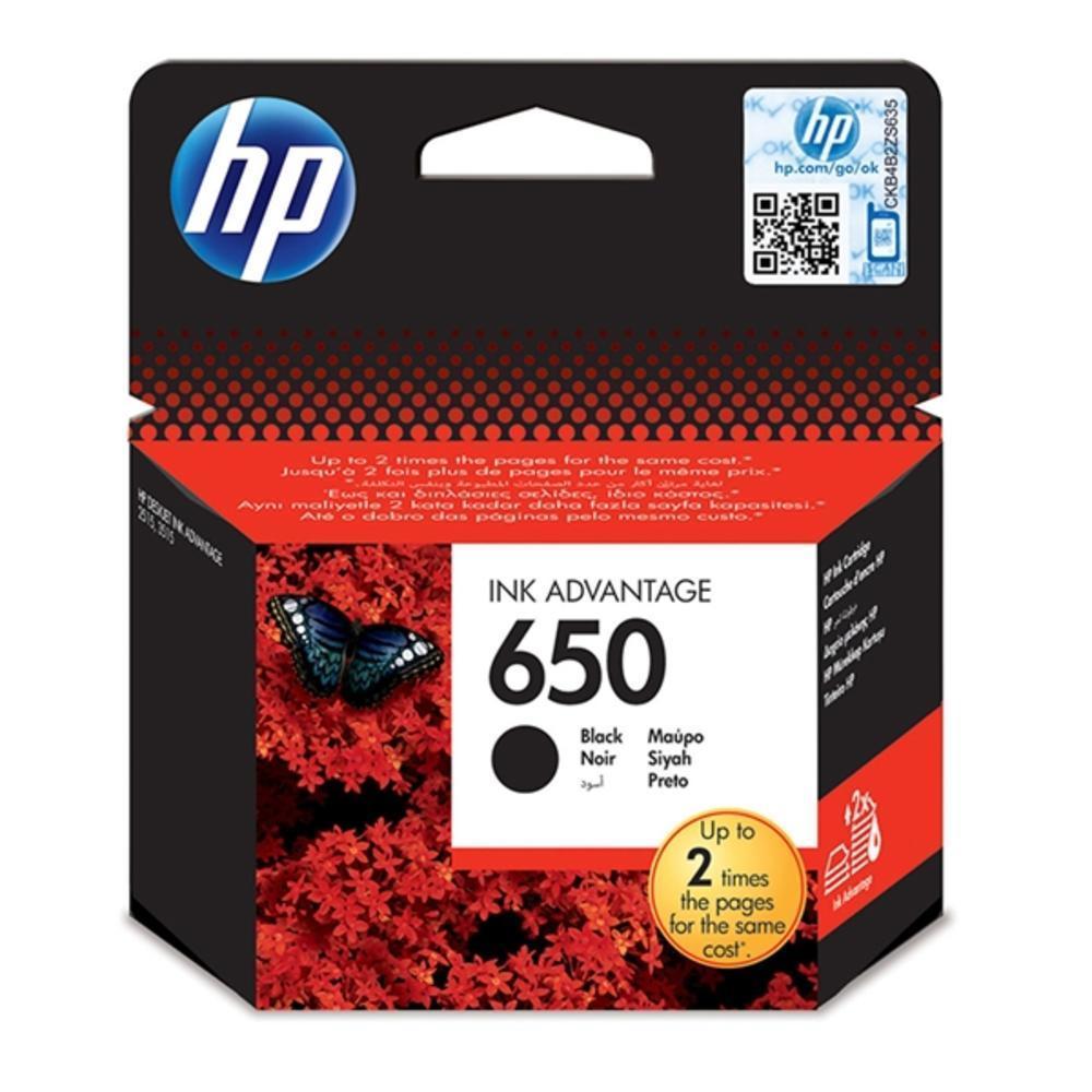 HP Μελάνι Inkjet No.650 Black