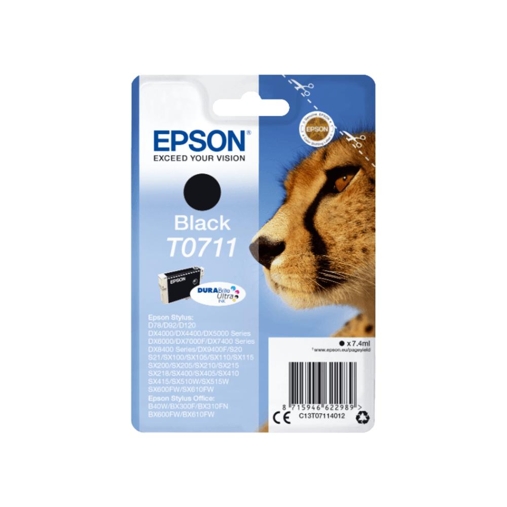 Epson Μελάνι Inkjet T0711 Black